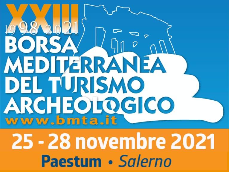 XXIII Borsa Mediterranea del Turismo Archeologico a Paestum dal 25 al 28 novembre 2021