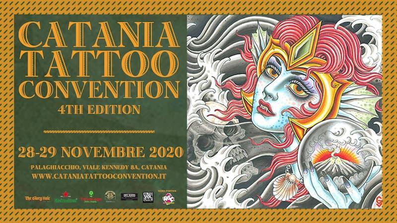 Catania Tattoo Convention 4th edition 28-29 novembre 2020