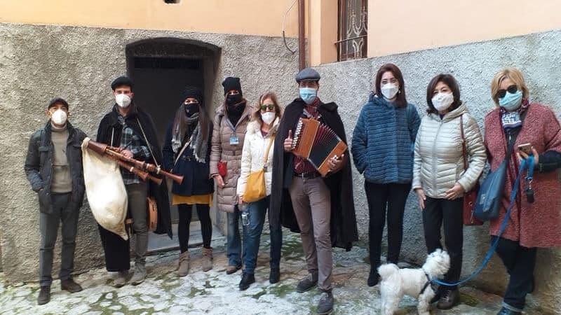 Aperitour natalizio di CulturAttiva a Catanzaro foto gruppo