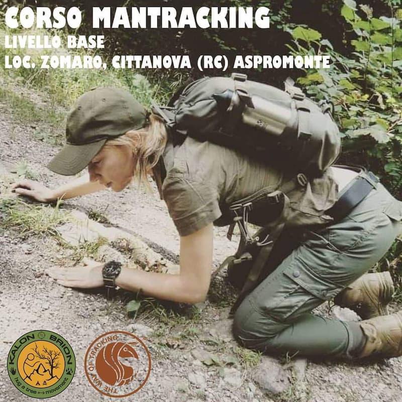 Corso Mantracking - livello base 6 e 7 Febbraio 2020 Cittanova