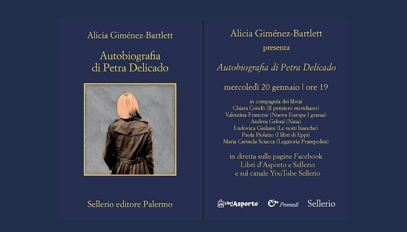 Alicia Giménez-Bartlett presenta Autobiografia di Petra Delicado