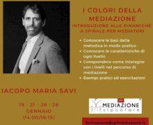 Corso Online I Colori della Mediazione 19 gennaio 2021 locandina
