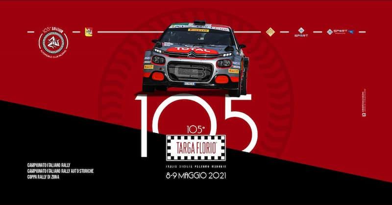 105° Targa Florio 8 e 9 maggio 2021 Palermo locandina