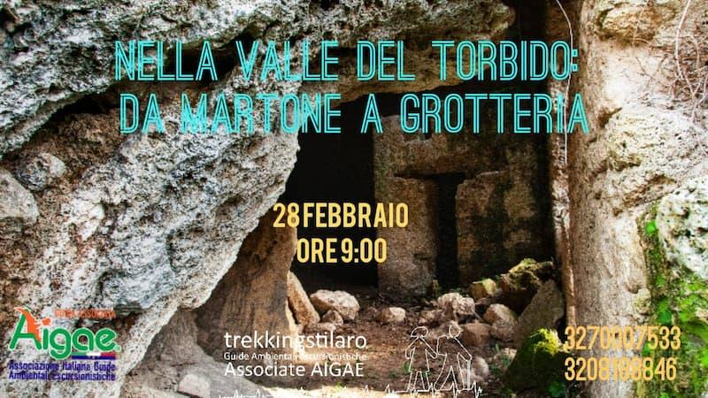Nella Valle del Torbido da Martone a Grotteria 28 febbraio 2021