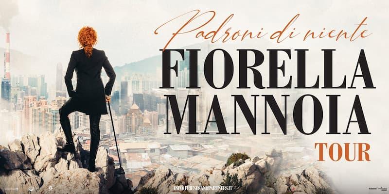 Fiorella Mannoia a Bari