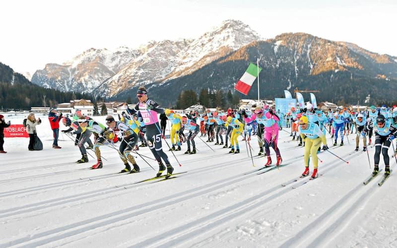Gran Fondo delle Vette - International Ski Race