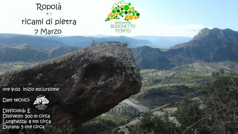 Ropolà e i ricami di pietra 7 marzo 2021 Antonimina