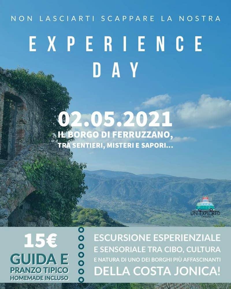 Borgo di Ferruzzano tra sentieri, misteri e sapori 2 maggio 2021 Ferruzzano