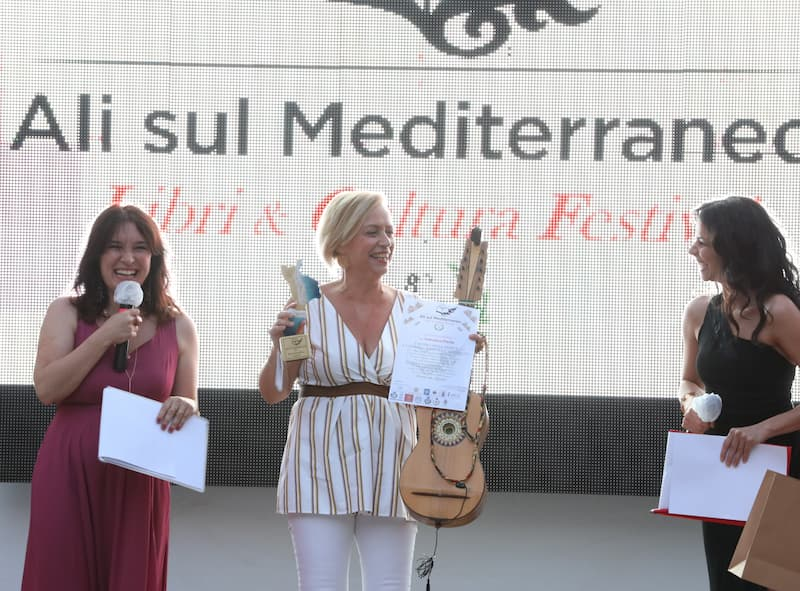 Ali sul Mediterraneo premiazione Francesca Prestia