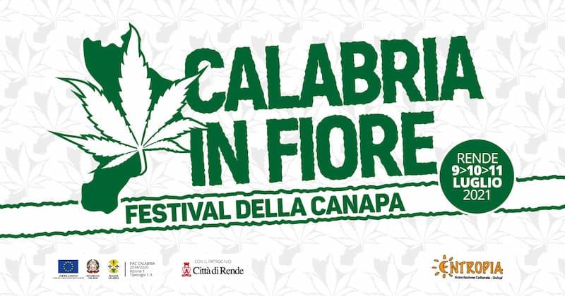 Calabria in fiore Festival della canapa 9 10 11 luglio 2021
