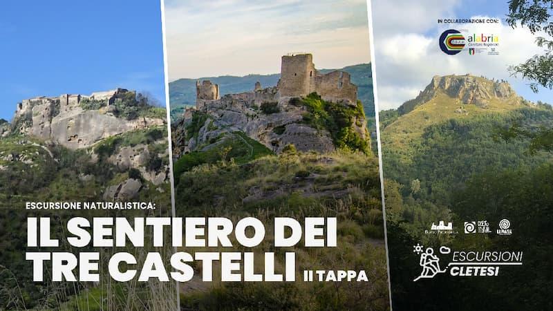 Il sentiero dei tre castelli - Savuto, Aiello Calabro e Cleto