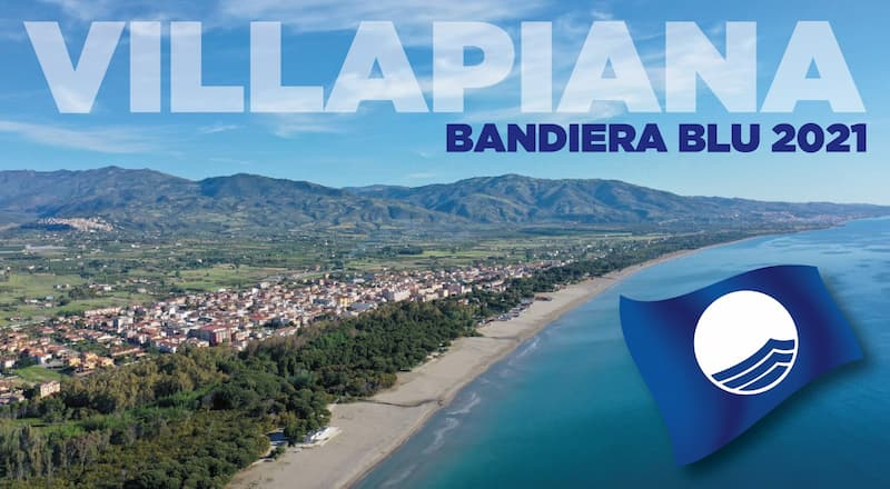Villapiana è Bandiera Blu 2021