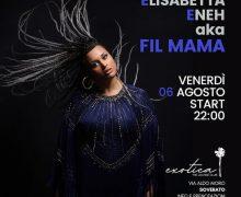 Elisabetta Eneh aka Fil Mama al Exotica – The Lounge Club – Soverato 6 agosto 2021