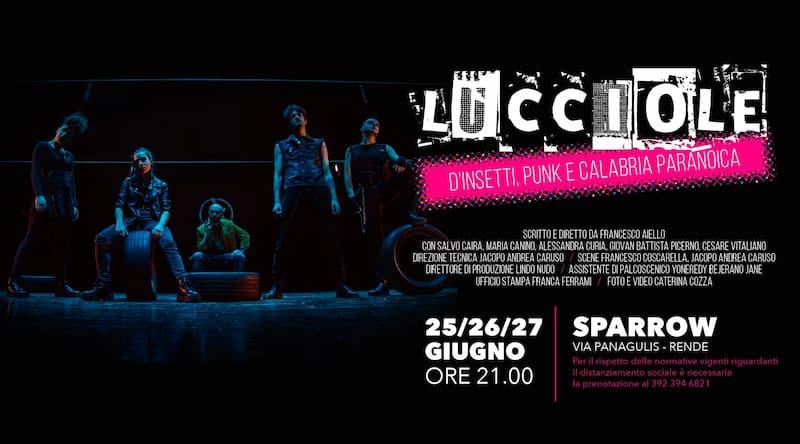 Lucciole. D'insetti, Punk e Calabria Paranoica 25-26-27 giugno 2021 a Rende