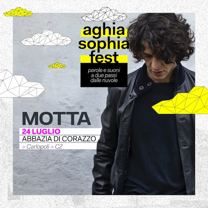 MOTTA live @AGHIA SOPHIA FEST 24 luglio 2021 a Carlopoli
