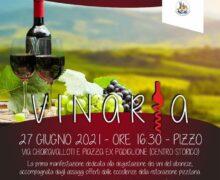 Vinaria 27 giugno 2021 a Pizzo Calabro locandina
