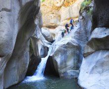 Canyoning sul Ferollà