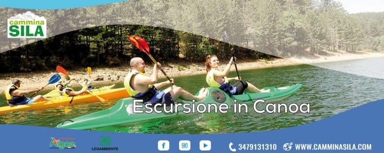 Escursione in Canoa in Sila