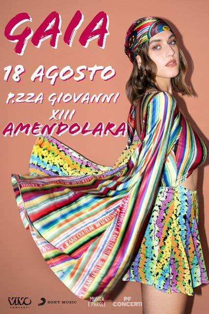 Gaia ad Amendolara 18 agosto 2021 locandina