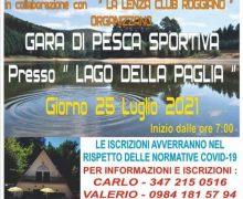 Gara di pesca sportiva al Lago della Paglia 25 luglio 2021