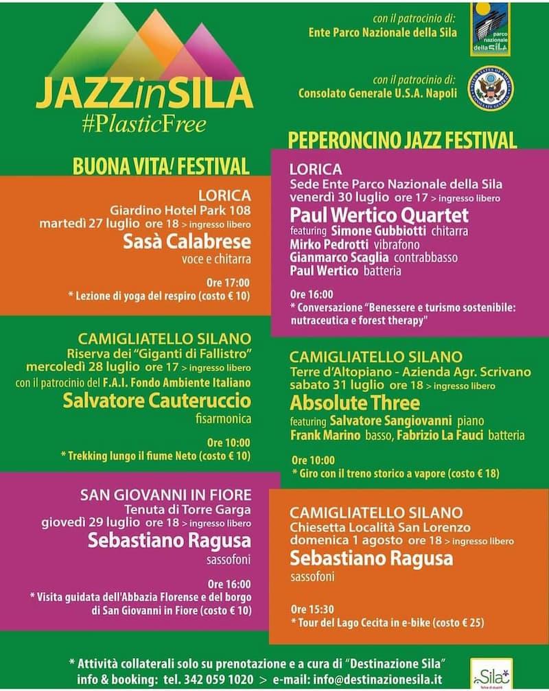 Jazz in Sila 2021