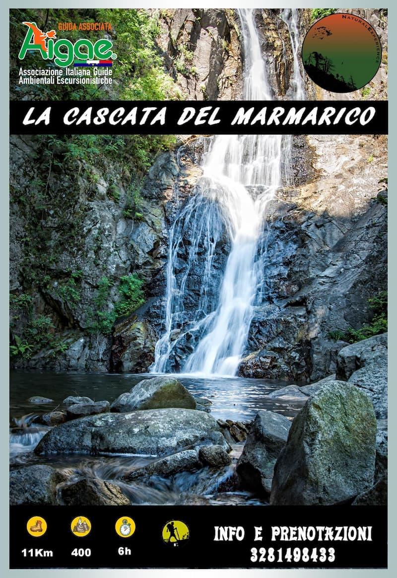 La cascata del Marmarico locandina