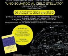 Presentazione di Uno sguardo al cielo stellato 3 agosto 2021 Fiumefreddo Bruzio locandina