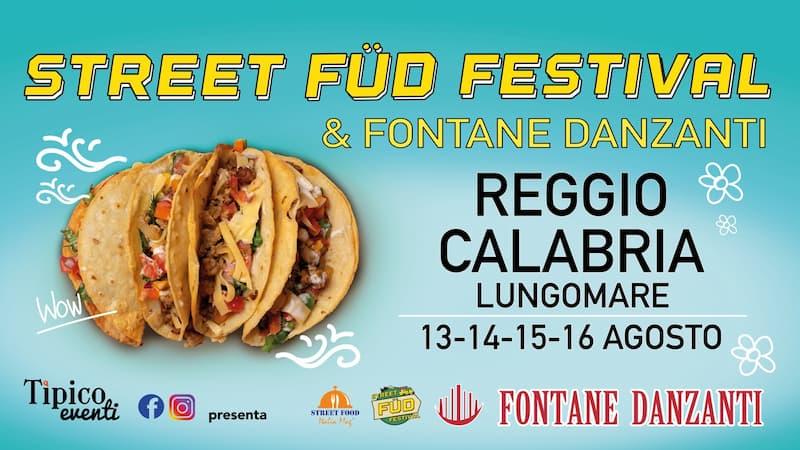 Street Food Fud Festival a Reggio Calabria 2021