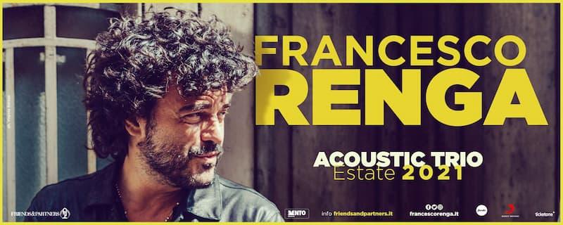 XX Festa Nazionale dello Stocco - Francesco Renga in concerto 17 agosto 2021