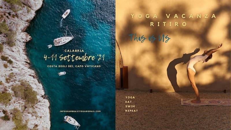 Yoga Holiday Retreat Calabria 4 - 11 settembre 2021 Capo Vaticano