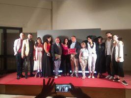 serata a Vibo Marina con diversi attori del cast