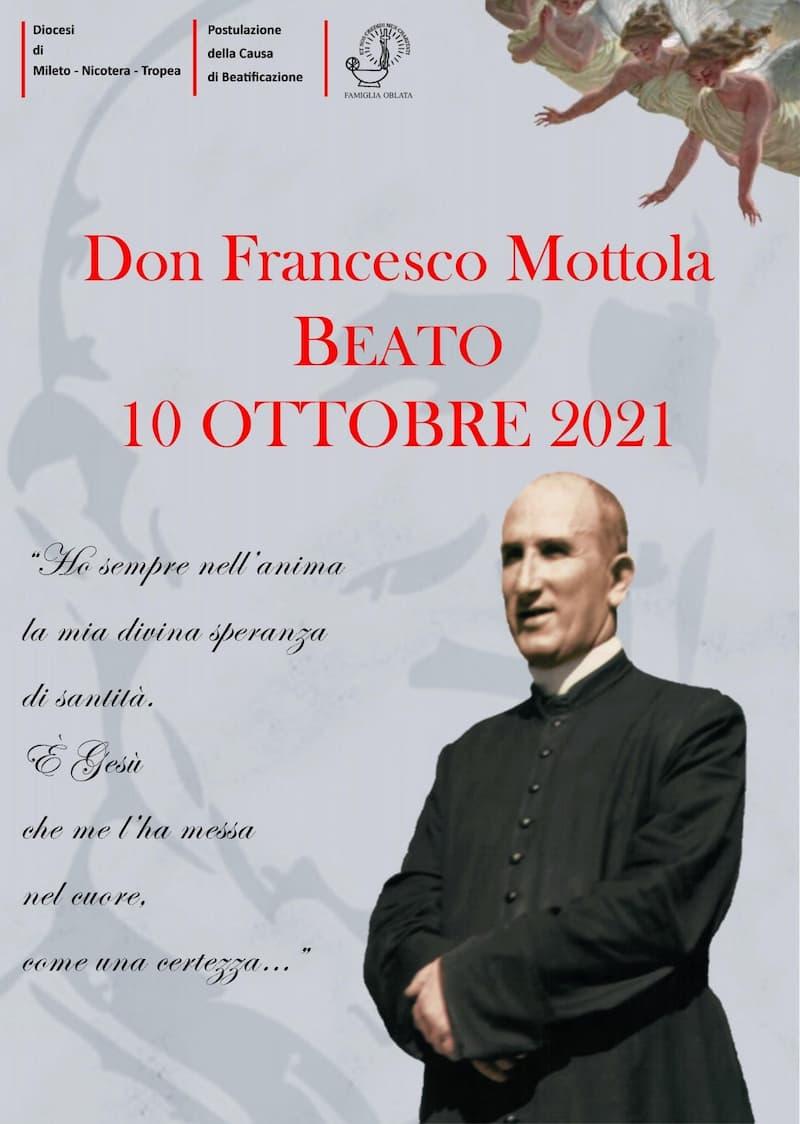 Don Francesco Mottola Beato 10 ottobre 2021