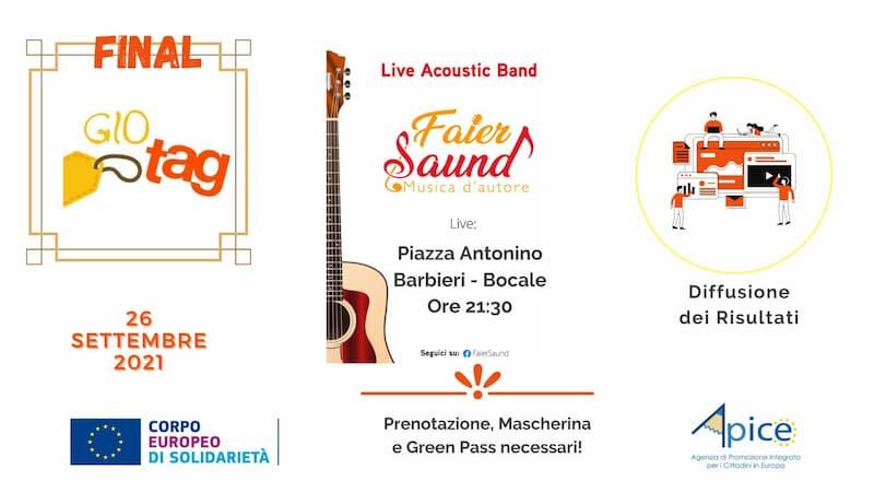 Final Event Faiersaund in GioTAG 26 settembre 2021 Reggio Calabria locandina