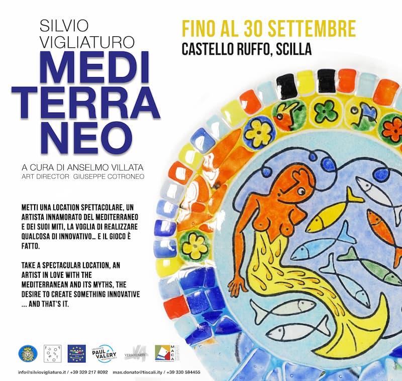 MEDITERRANEO -arrivano a Scilla le opere di Silvio Vigliaturo 2021