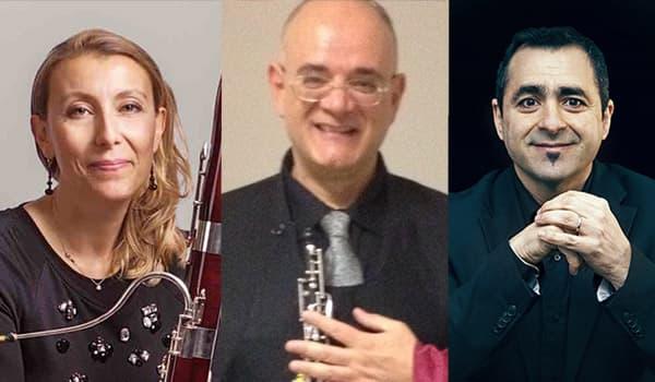 Trio Chiara Santi, Daniele Federico, Francesco Giardino