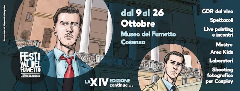 Festival del Fumetto Le Strade del Paesaggio 2021 Cosenza