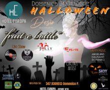 Halloween Hotel Europa Rende 31 Ottobre 2021 locandina