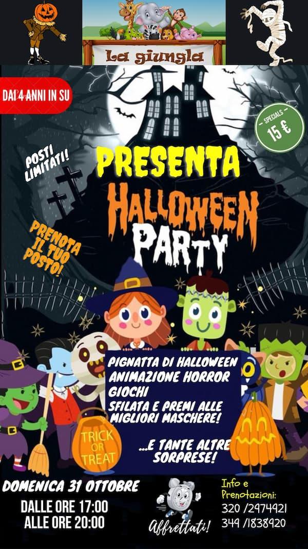 Halloween Party 31 ottobre 2021 Catanzaro locandina