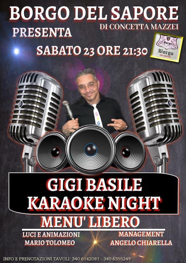 Karaoke Music Party 23 ottobre 2021 Catanzaro locandina