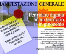 Manifestazione generale - per restituire dignità a questa Città 30 ottobre 2021 Reggio Calabria